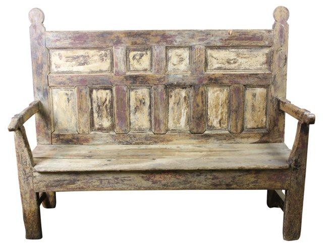 18th-C.   European Bench