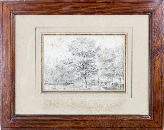 European Landscape Drawing