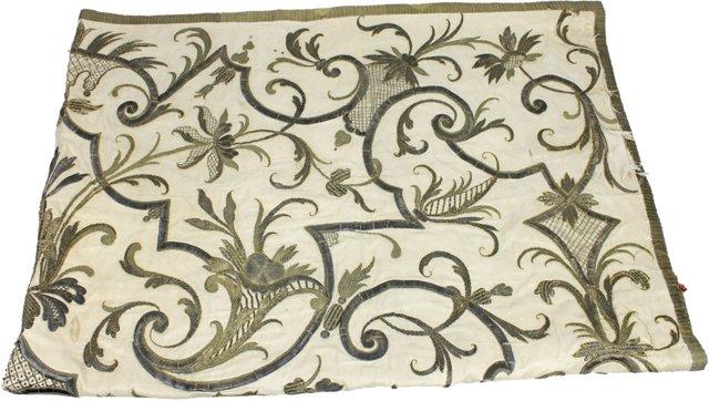 Italian Metallic Thread Embroidery
