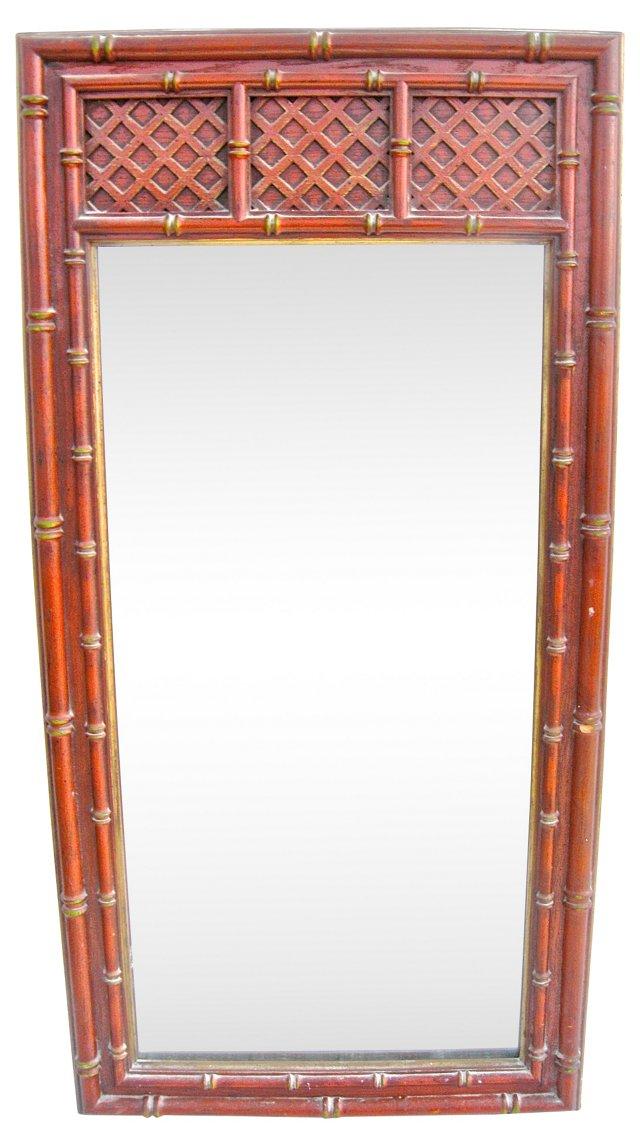 Bamboo-Style & Lattice Mirror