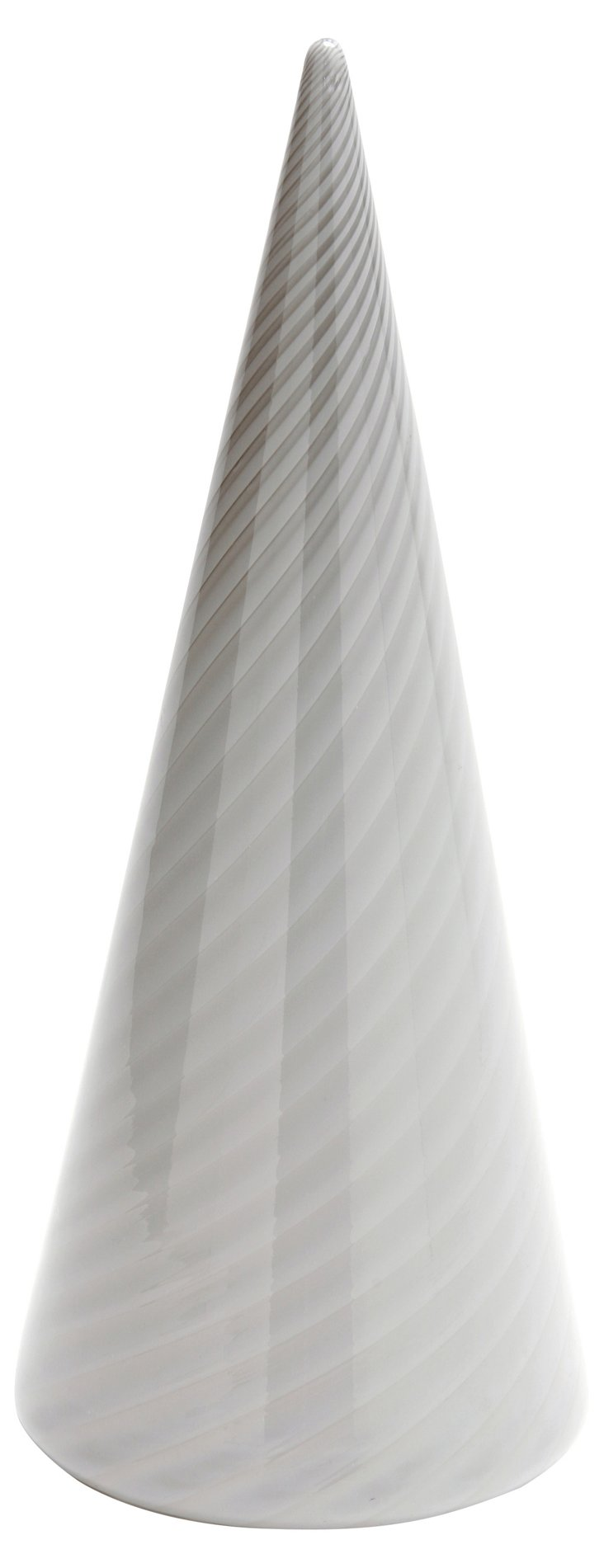 Murano Glass Cone Lamp