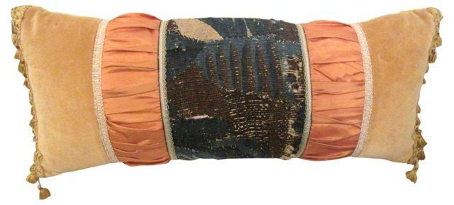 Aubusson Velvet Tapestry Pillow
