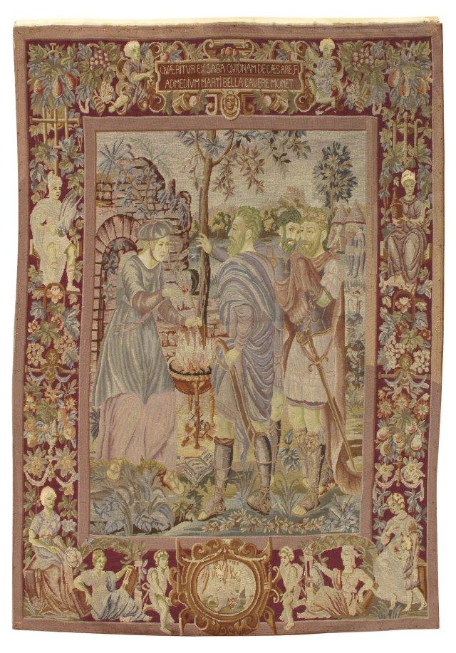 Julius Caesar Needlepoint Tapestry