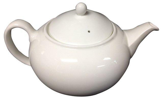 Wedgwood Alpine White Teapot