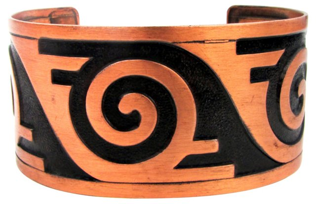 Bell Trading Post Copper Cuff