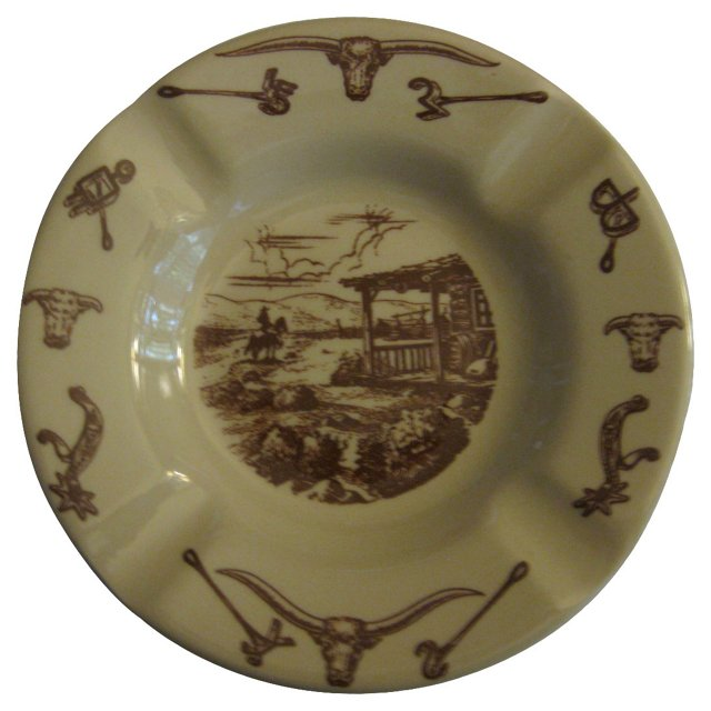 American West Ashtray
