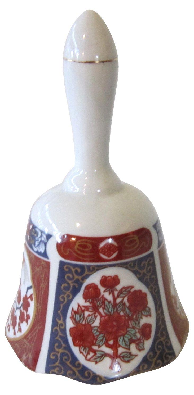 Imari-Style Hand Bell