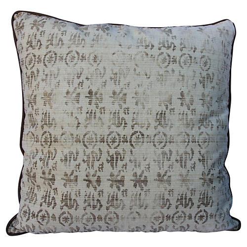 Rose Tarlow Printed Linen Pillow