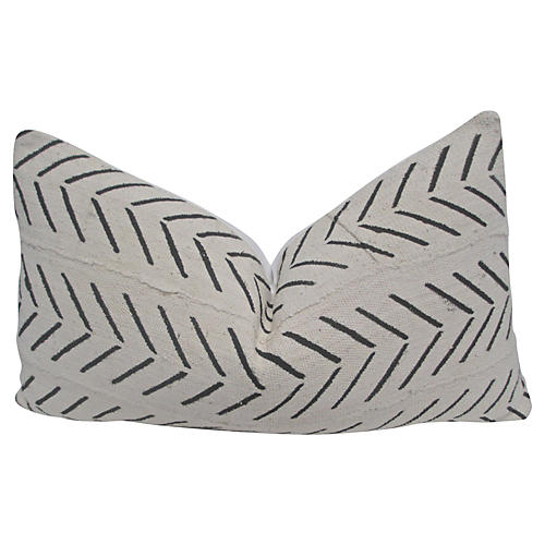 African Tribal Mud-Cloth Pillow