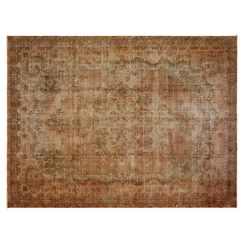 "Persian Overdyed Rug, 8'5"" x 11'6"""