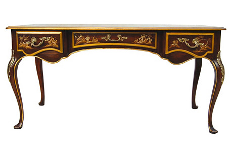 French Chinoiserie Desk