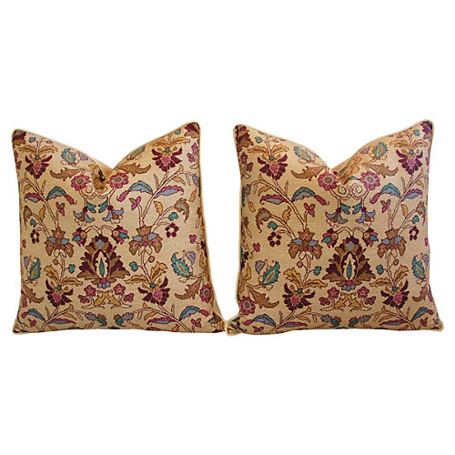 Ralph Lauren Melstone Rug Pillows, Pair