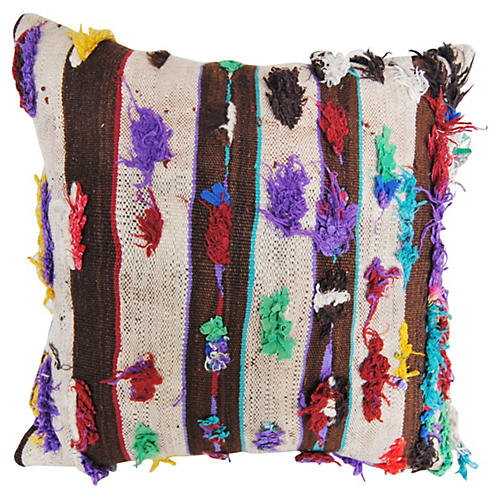 Moroccan Handloomed Tufted Pillow