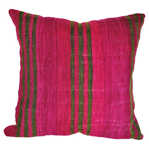 Custom Moroccan Wool Pillow