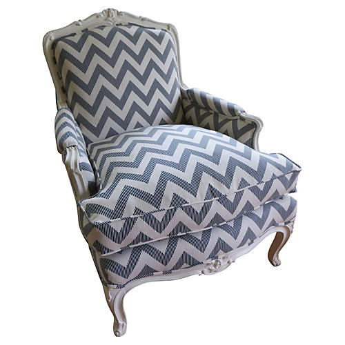 Bergère In Chevron Blues