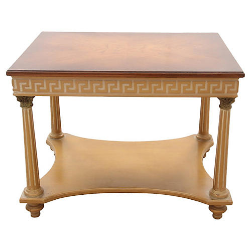 French Empire-Style Side Table
