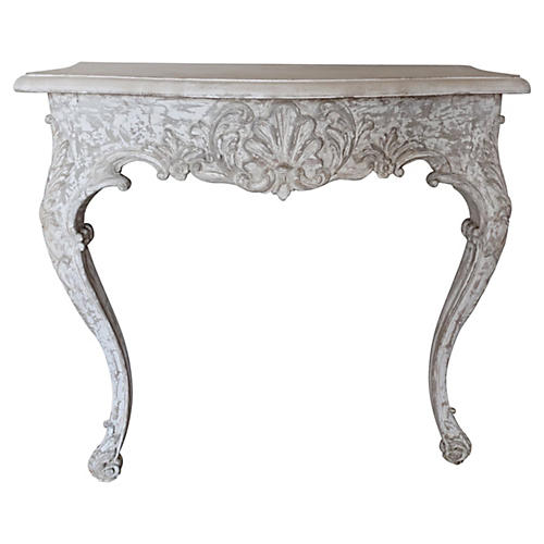 Painted French Console, C. 1930