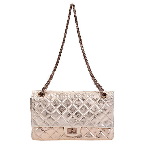 Chanel Rare Rose Gold Flap Bag