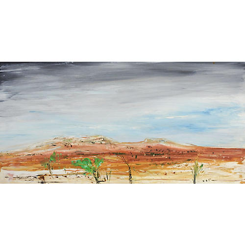 Desert Landscape by G. Turner