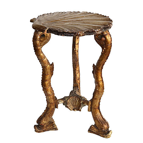 Venetian Fish Grotto Side Table