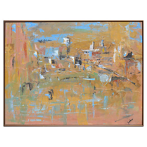 Netural Abstract by Sandra LoBue