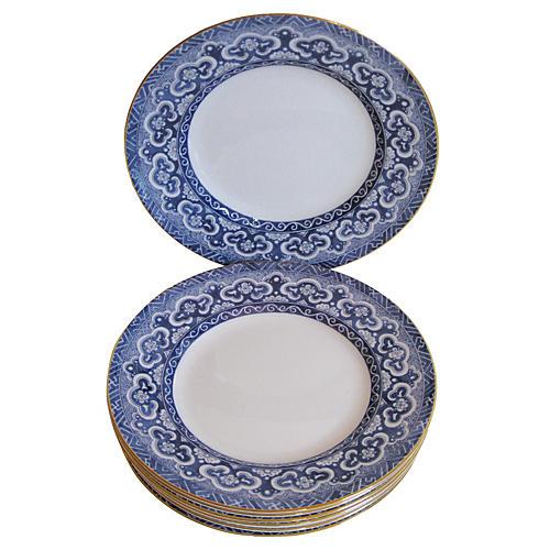 Wedgwood Ralph Lauren Plates, S/8