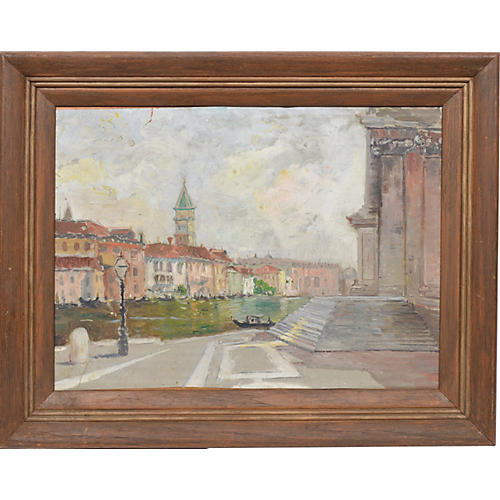 Impressionist View of Venice