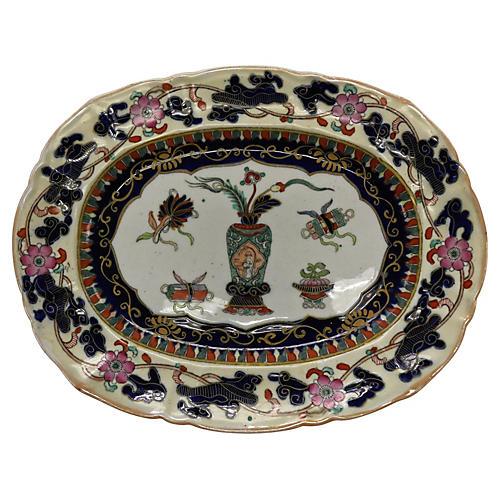 Antique Mason's Ironstone Platter