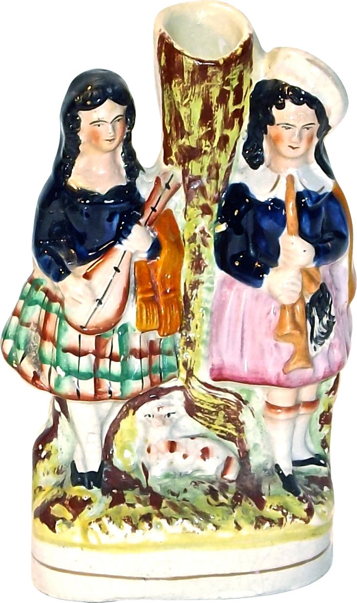 Antique English Staffordshire Figurine