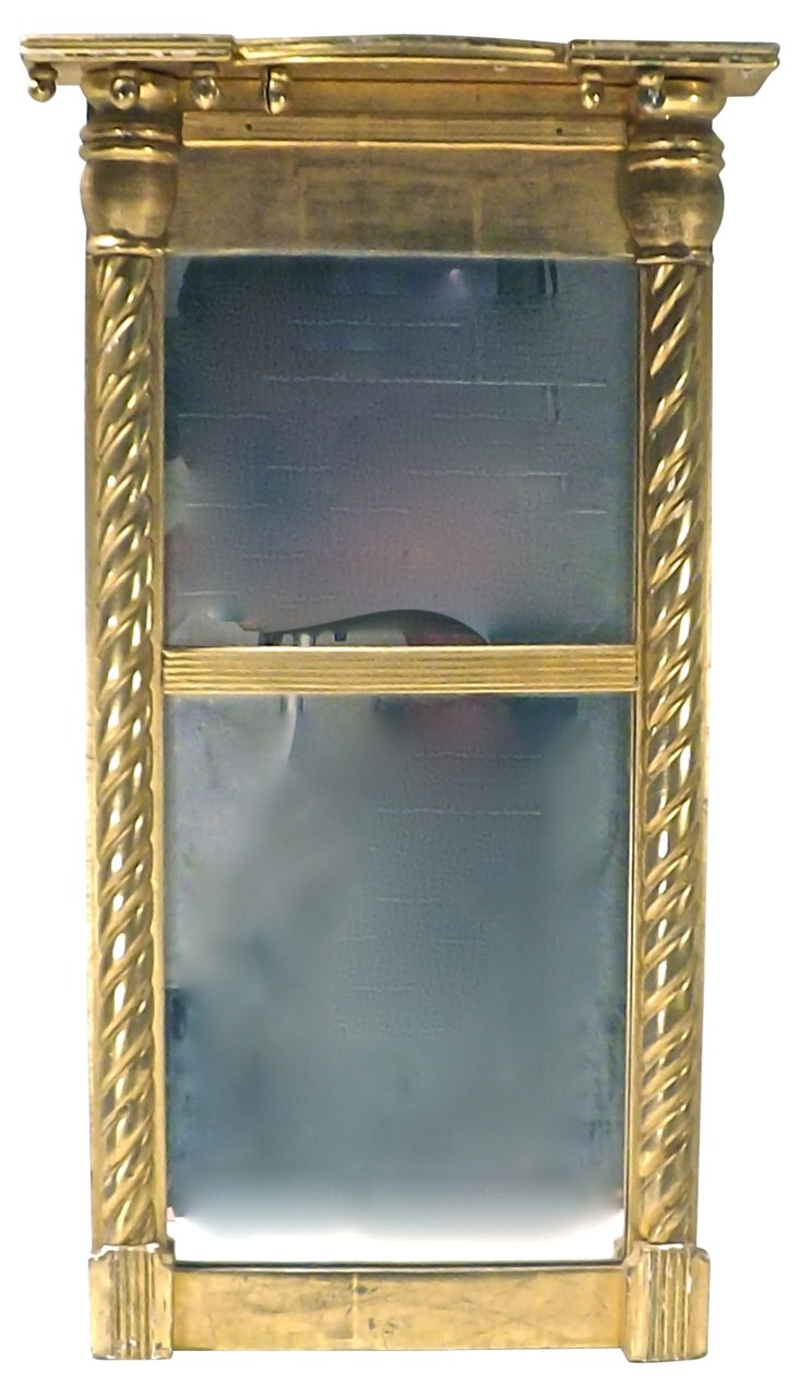 Giltwood Double Mirror