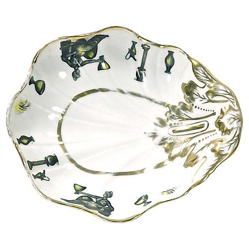 Antique Porcelain Classical Shell Dish