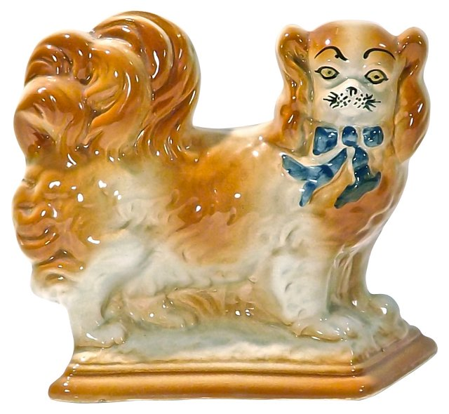 English Staffordshire    Dog Figurine