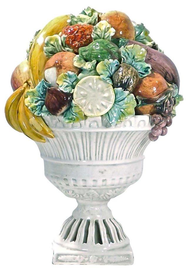 Ceramic Italian Fruit Plaque
