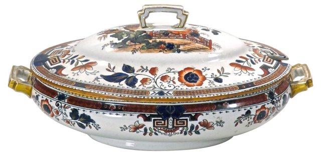 Antique Spode Ceramic Tureen