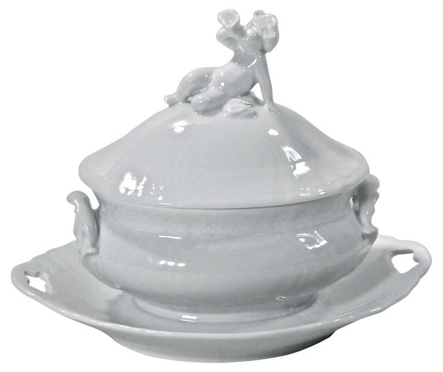 Royal Copenhagen Porcelain Cherub Tureen