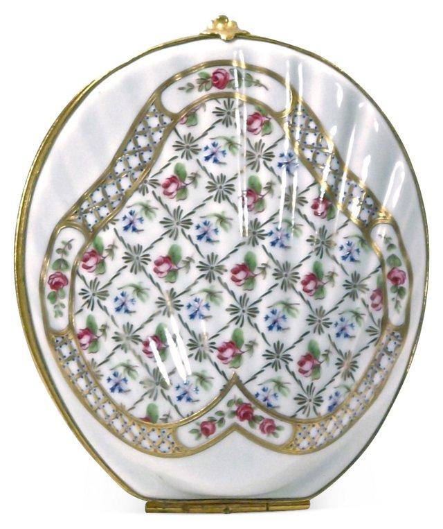 Porcelain Limoges Shell Box