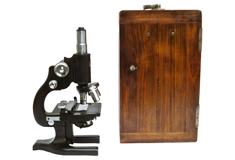 Spencer Microscope & Case
