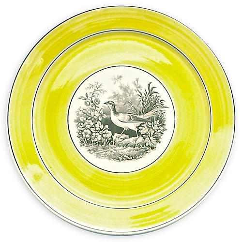 German Mottahedeh Wild Bird Plate