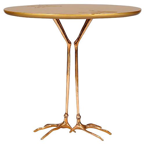 Traccia Side Table Attri. to Oppenheim