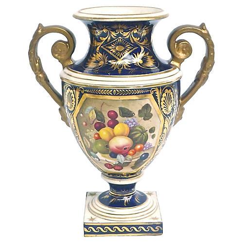 Antique Royal Crown Derby Urn Vase
