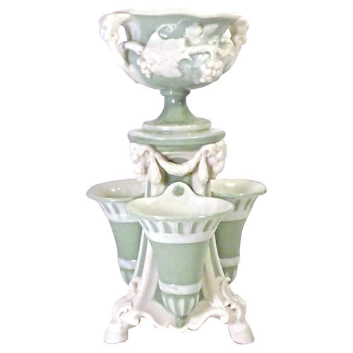 Tiered Porcelain Classical Epergne