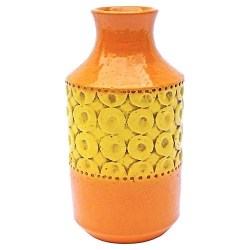 Bitossi for Raymor Circles Vase