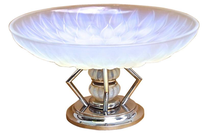Etling French Art Deco Lotus Coupe