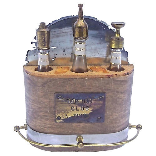 Art Deco Miniature Bar Perfume Set