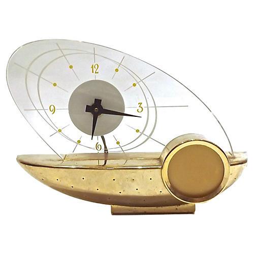 Atomic Schaefer Beer Lighted Clock