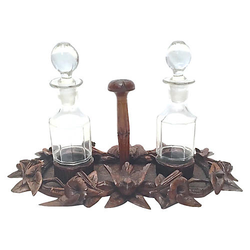 Black Forest Condiment Caddy