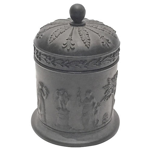 Antique Wedgwood Classical Basalt Jar
