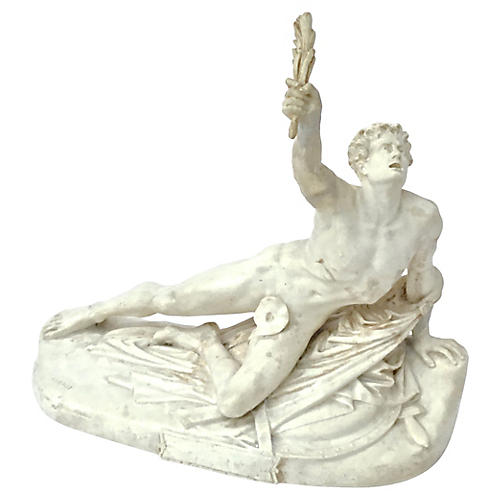 Classical Style Antique Male Sculpture
