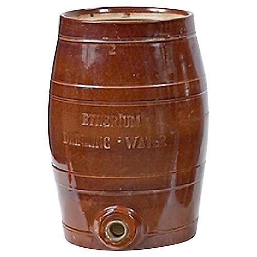 Barrel Cask Liquor Dispenser