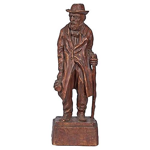 Jo Mead Wanderer Figural Sculpture